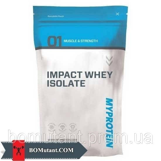 Impact Whey Isolate 2,5кг MyProtein шоколад гладкий