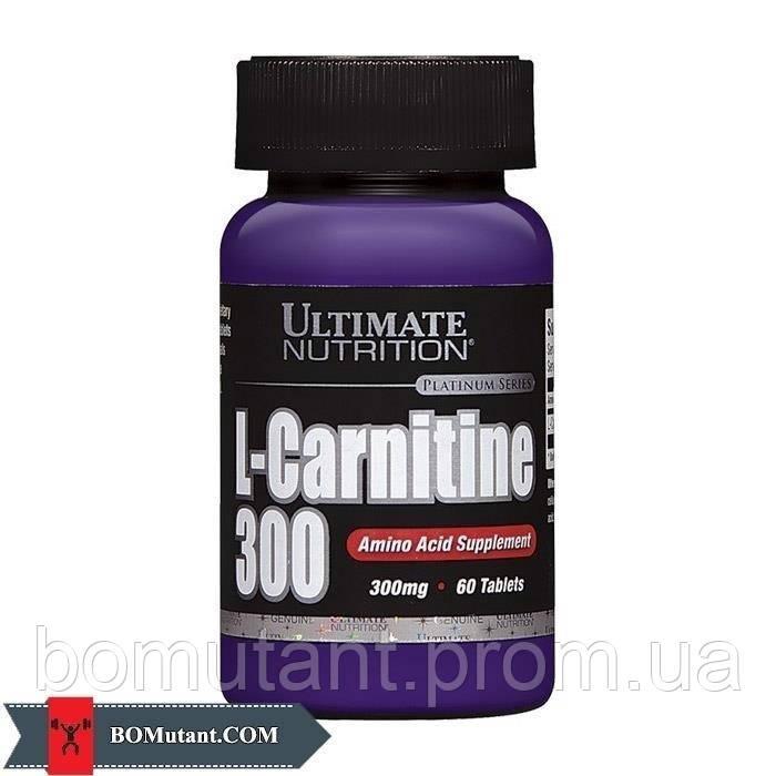 L-Carnitine 300 mg 60таблетки Ultimate Nutrition шоколад-кокос