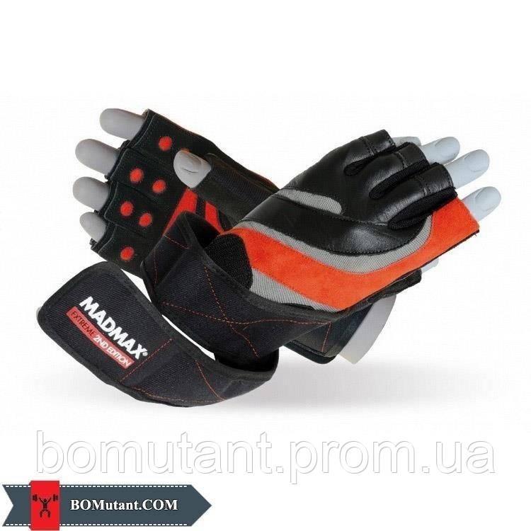 Extreme 2nd Workout Gloves MFG-568 размерM Mad Max черный/красный
