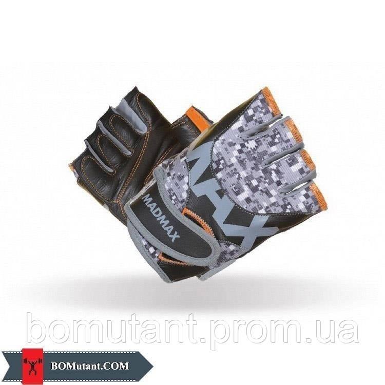 MTI83.1 Workout Gloves MFG-831 Msize Mad Max серый/оранжевый