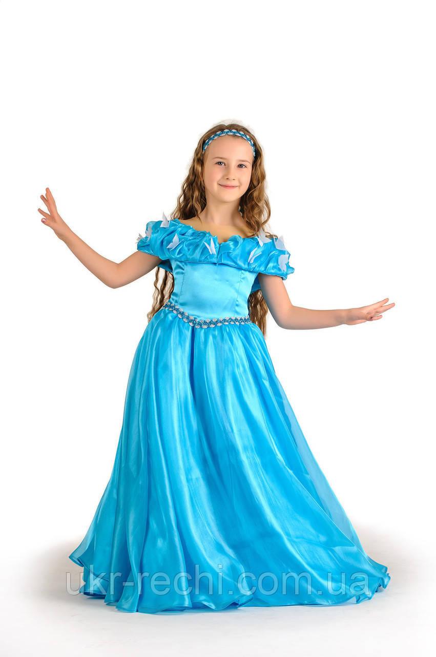 Детский карнавальный костюм Золушка «Классика» код 1250