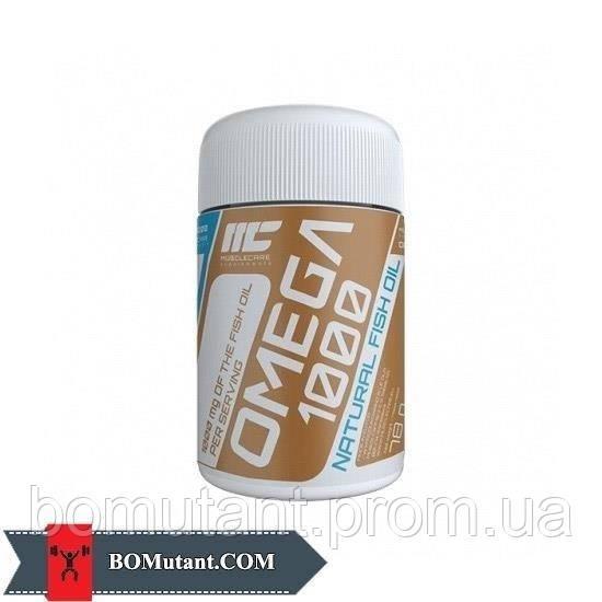 Omega 1000 120капсулы Muscle Care шоколад-кокос