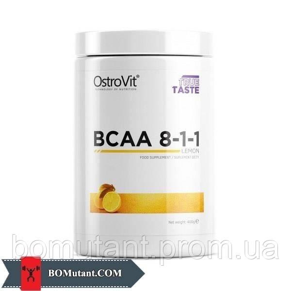 BCAA 8-1-1 0,400кг OstroVit шоколадно-оранжевый