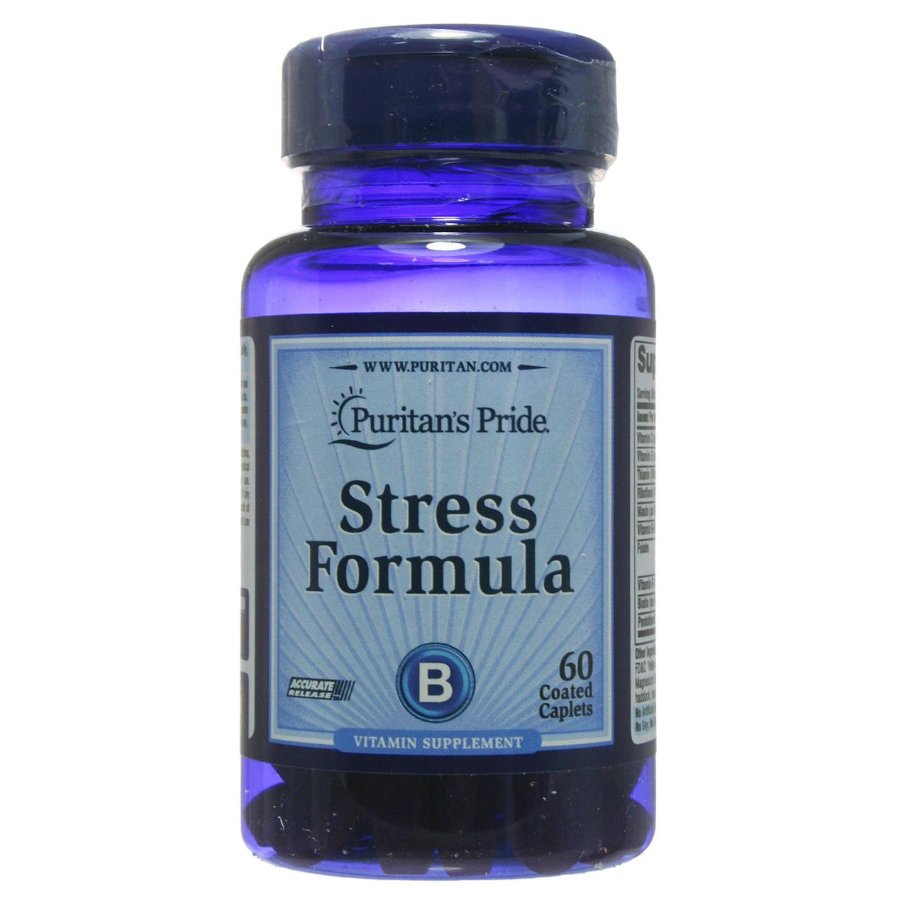 Стресс формула, Stress Formula, Puritan's Pride, 60 таблеток
