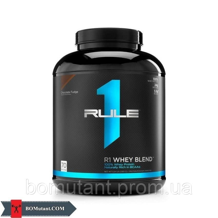 Whey Blend 2,31кг R1 (Rule One) ванильное мороженое