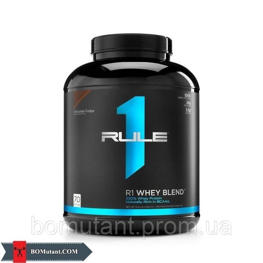 Whey Blend пакети R1 (Rule One) экстремальные клубничным кремом