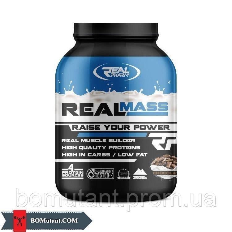 Real Mass 3,6кг Real Pharm орехи и карамель