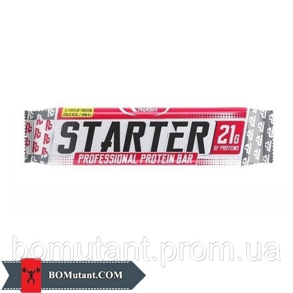 Starter Protein Bar 0,60кг Real Pharm орехи и карамель