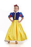 Детский карнавальный костюм Белоснежка код 1266