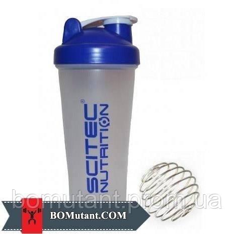 Shaker with metal ball 600ml Scitec Nutrition шоколад-кокос