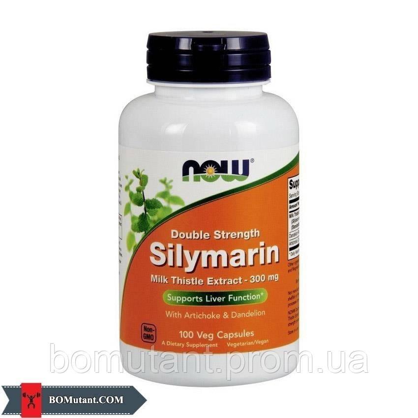 Silymarin 300 mg double strength 100 vegveg caps NOW шоколад-кокос