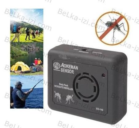 Отпугиватель комаров AO 149 на батарейках / Портативный отпугиватель комаров, фото 1