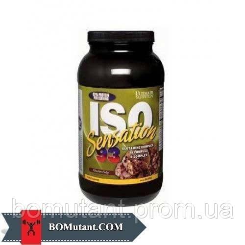 ISO Sensation 0,910кг Ultimate Nutrition печенье и сливки