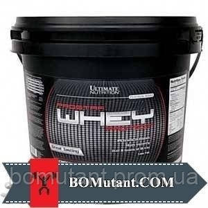 Prostar Whey 100% 4,5кг Ultimate Nutrition натуральная клубника