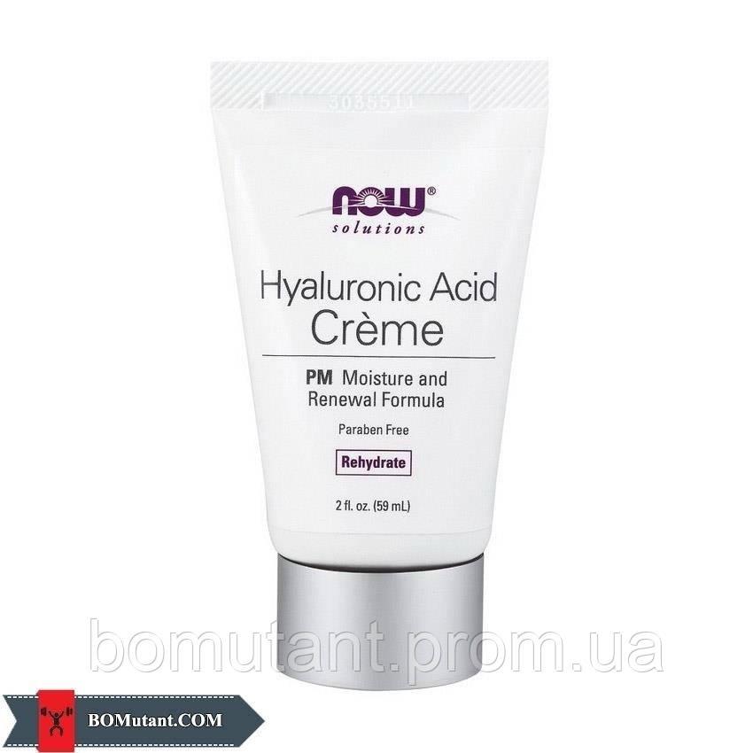 Hyaluronic Acid Creme PM 59ml NOW шоколад-кокос