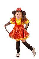 Детский карнавальный костюм Обезьянка «Огненная» код 1133
