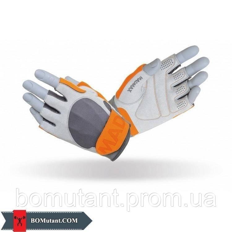 Workout Gloves MFG-850 Lsize Mad Max серый/Чили