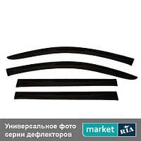 Дефлекторы окон на Peugeot 308 (ANV-air)