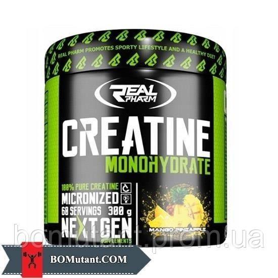 Creatine Monohydrate 0,300кг Real Pharm смородина-лимон