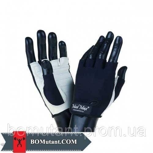 Basic Workout Gloves MFG-250 размерL Mad Max бело-черный