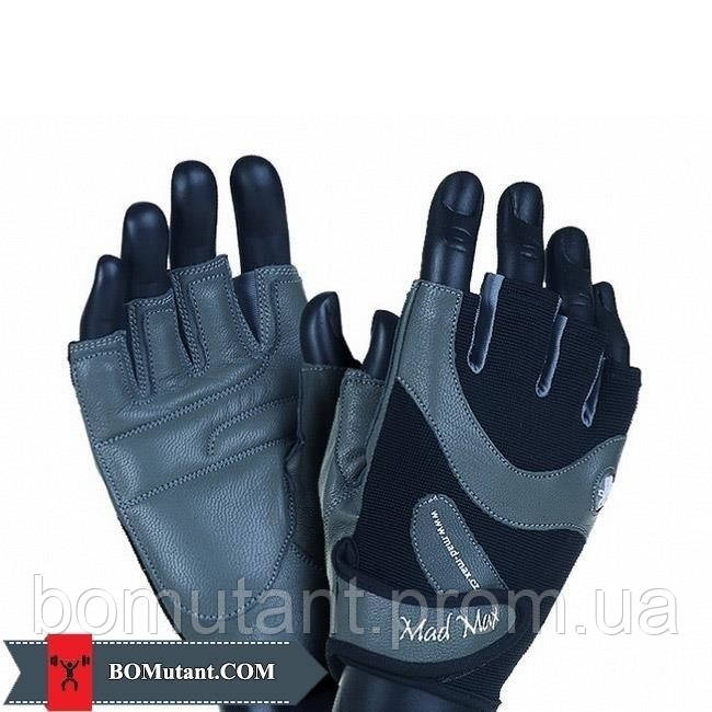 MTI83 Workout Gloves MFG-830 Msize Mad Max черный/серый