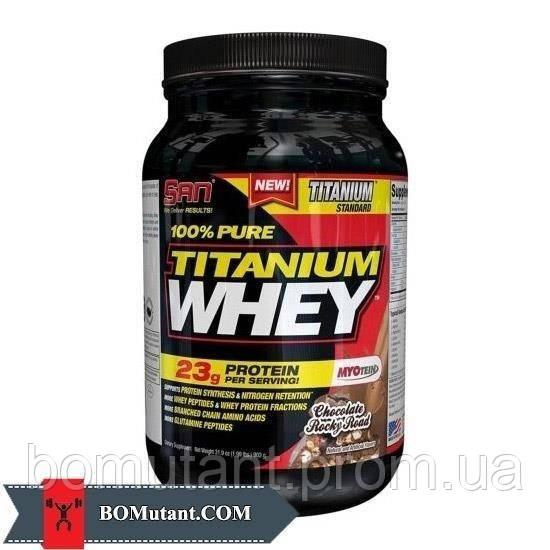 100% Pure Titanium Whey 0,900кг SAN тропическая ягода
