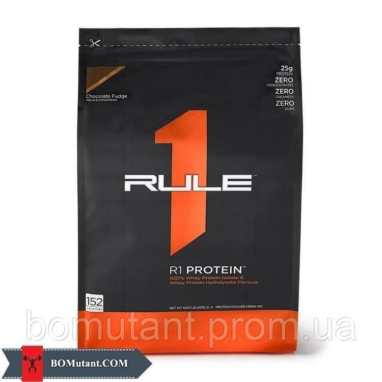 R1 Protein 4,57кг R1 (Rule One) делюкс шоколадная помадка