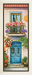 Набор для вышивания нитками Цветущий балкон 3 (стиль Rococo)