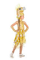 Детский карнавальный костюм Рыбка в золоте код 1215, фото 1