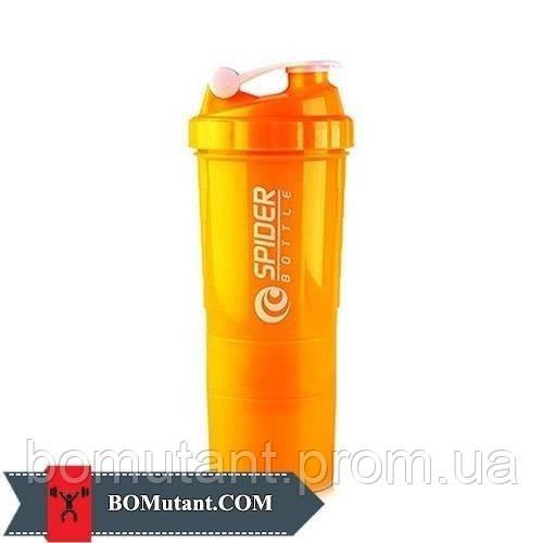 Spider Bottle Mini2Go 500ml Spider Bottle ozean синий/неоновый оранжевый