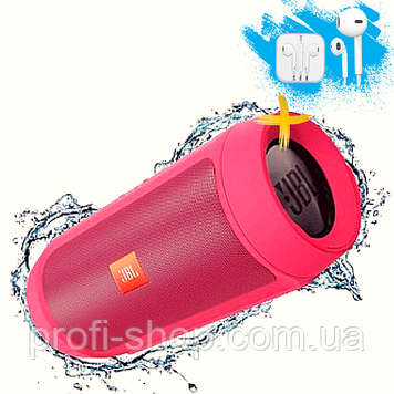 Портативная Bluetooth колонка JBL Charge 2+. Красная. Red