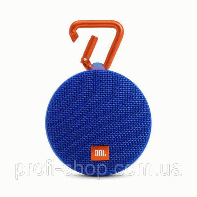 Портативная акустика JBL Clip 2 Blue. Синий
