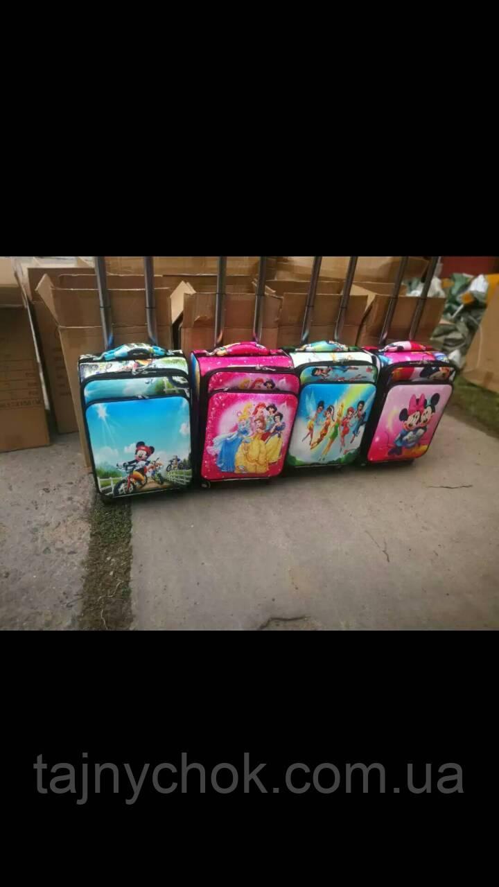 Дитячий валізу 4 колеса екошкіра