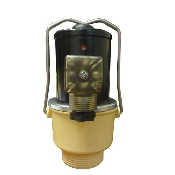 Сливной клапан ELVA с резьбой нормально закрытый  DN40 220В