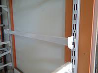 Перемичка (балка) довжиною 75см білого кольору для рейкового торгового обладнання виробництво Україна, фото 1