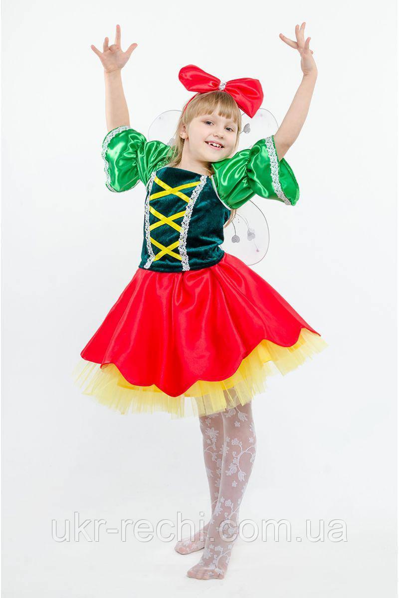 Детский карнавальный костюм Дюймовочка код 230