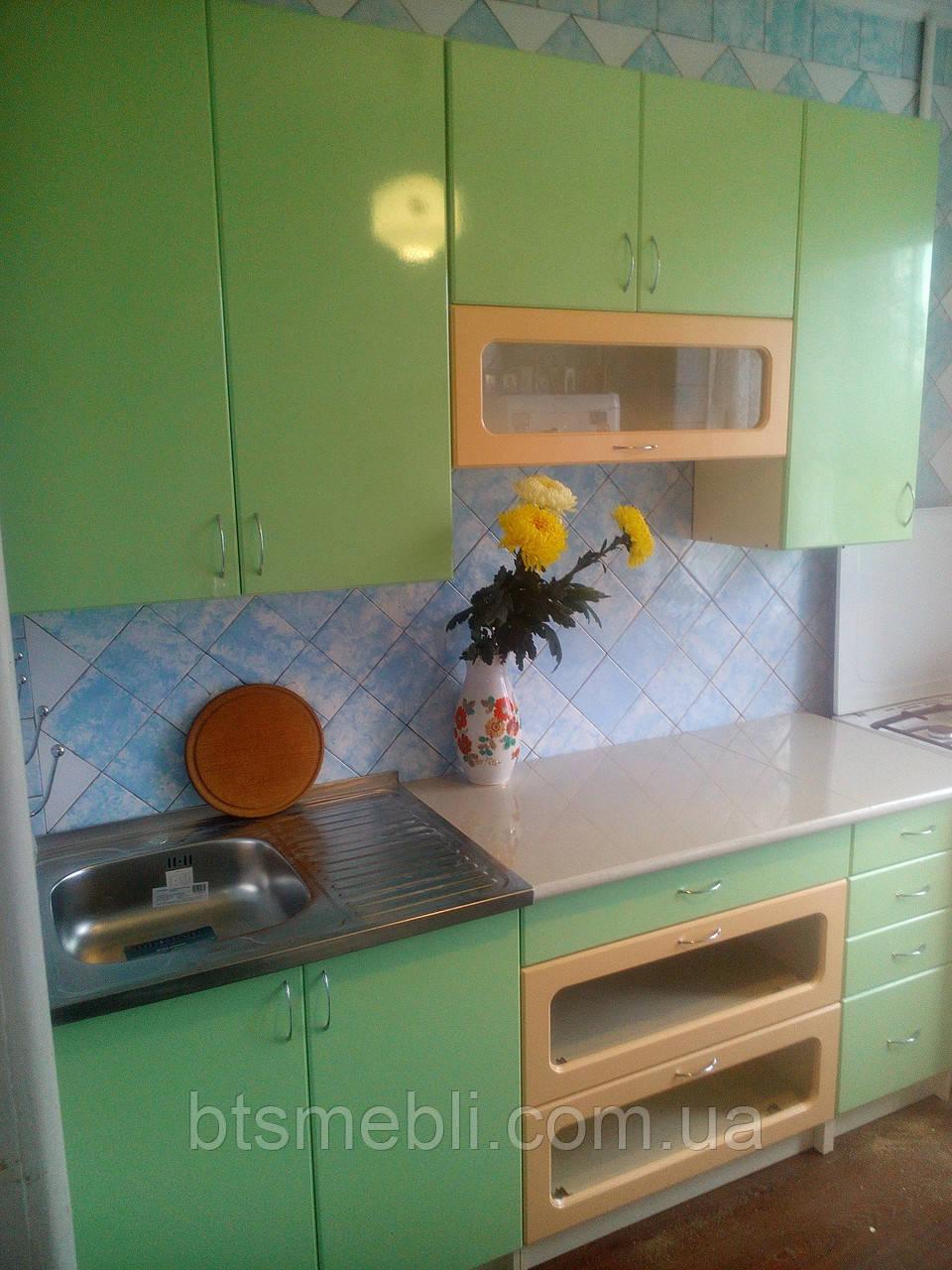 Кухня Жемчужина МДФ ЛАК 2.0м и 2.6м