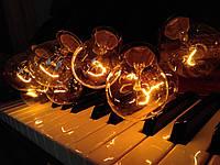 РЕТРО ГИРЛЯНДА 10 метров 20 ламп, ретро гирлянды из ламп накаливания!!!