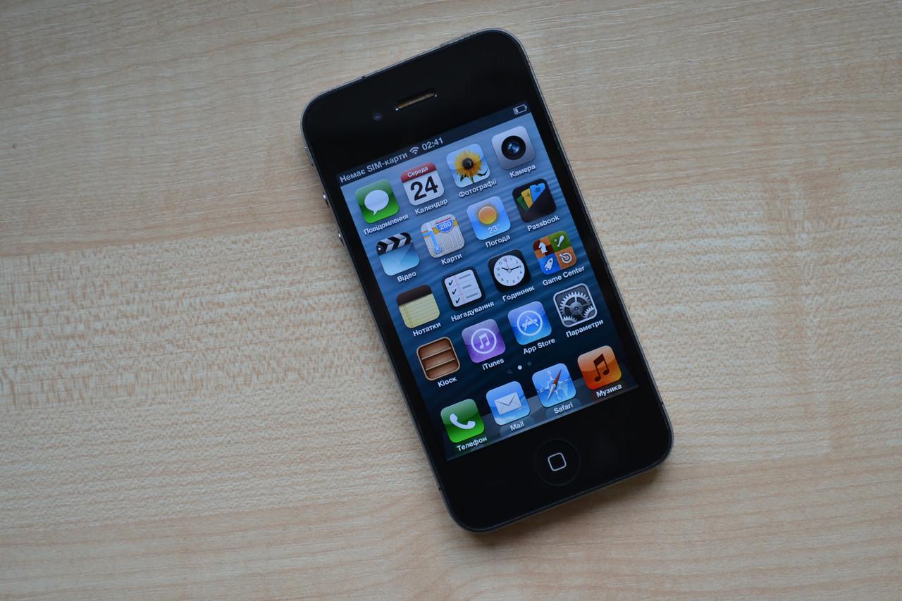 Apple Iphone 4 16Gb Black Neverlock Оригинал!