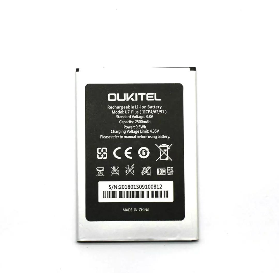 Акумулятор для смартфона для Oukitel U7 plus 2500 mAh