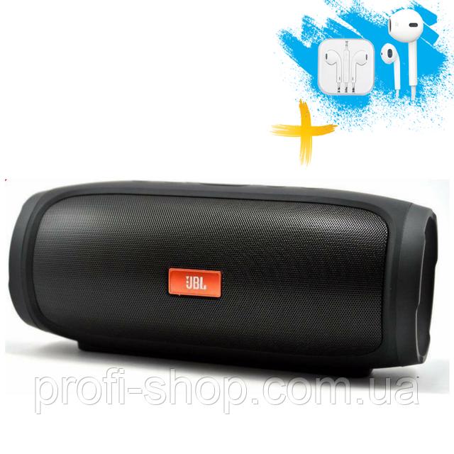Портативная колонка Bluetooth JBL CHARGE 4 MP3 FM USB. Черная. Black