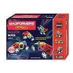 Магнитный конструктор Magformers Vehicle  Wow Set, 16 деталей комплект автомобилей Магформерс Оригинал