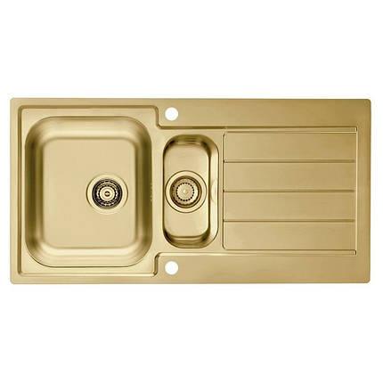 Кухонная мойка ALVEUS MONARCH LINE 10 золото (1078566), фото 2
