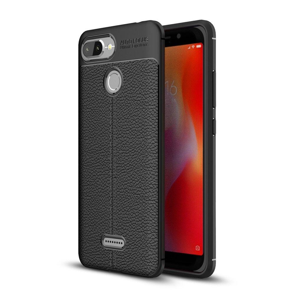 Накладка Xiaomi Redmi 6 Skin Shield Черная