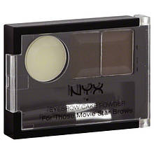 NYX Eyebrow Cake Powder Dark Brown \ Brown
