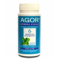 Ежедневное очищение №6 для возрастной, проблемной и жирной кожи, Agor, 65 г