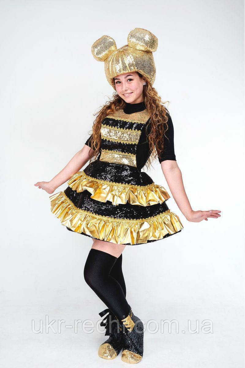 Карнавальный костюм для взрослых аниматоров  Кукла LOL ЛОЛ «Королева Пчелка (Queen Bee)»