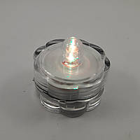 Свеча таблетка светодиодная водонепроницаемая