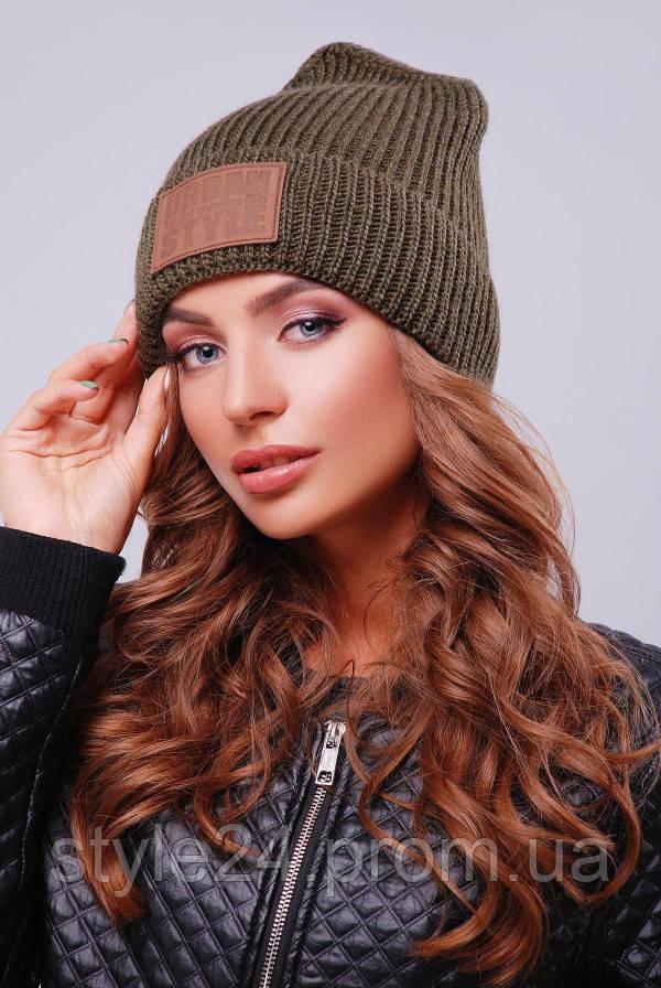 ЖІноча вязана шапка   продажа db425b364df66