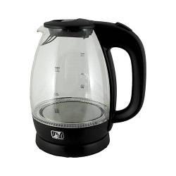 Електричний чайник PROMOTEC 1,7 л, 2250 Вт, скло